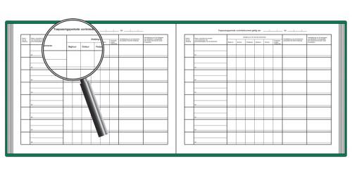 Register afwijkingen werktijd deeltijdse werknemers