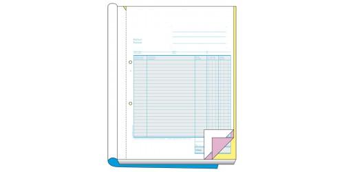 Blok factuur 297 x 210, 3 ex.