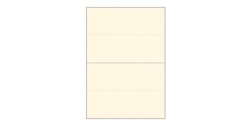 Lasercard Tafelnaamkaart 74,25x210