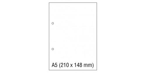 Papier wit A5 80g + perfo 8 cm