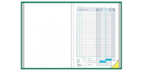 Kasboek A4 100 x 2 ex. N/F
