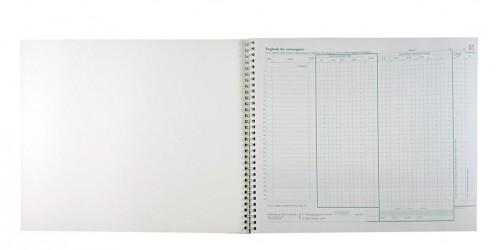 Dagboek der ontvangsten 30 x 2 ex.