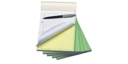 Orderbook gelijnd A5 no carb. 50x2