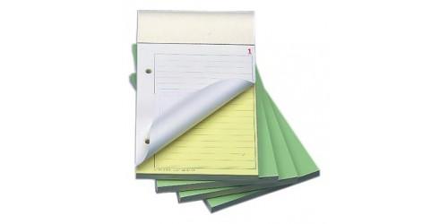 Orderbook gelijnd A6 no carb. 50x2