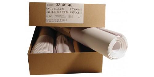 Papierblok Flipchart blanco 92x65