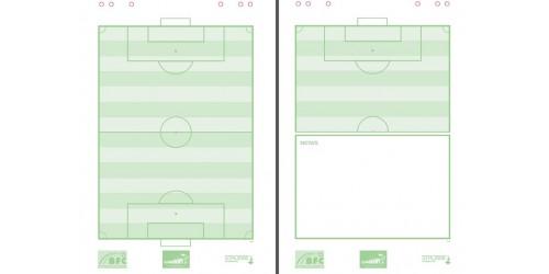 Papierblok voetbal Coach maxi