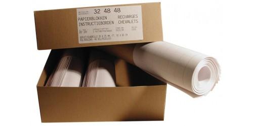 Papierblok Flipchart geruit 92x65