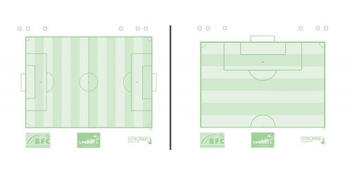 Papierblok voetbal Coach mini