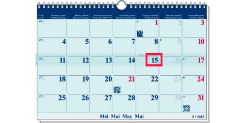 Office maandkalender 2022
