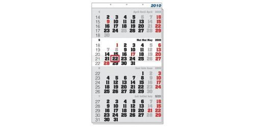 4-maandkalender 2022