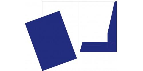 Presentatiemap A4 blauw cap. 5 mm