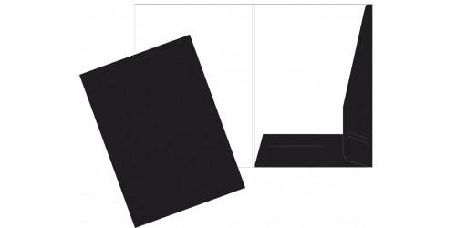 Presentatiemap A4 zwart cap. 5 mm