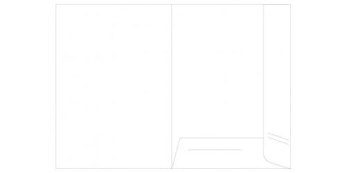 Presentatiemap A4 wit - doos v/100