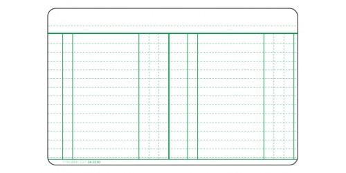 Rekening-courantkaart 125 x 200