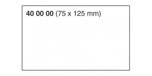 Blancokaart 75x125