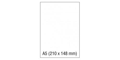 Fotokopie/laserpapier A5
