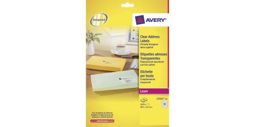 Avery eti. Transp. 21,2x38,1 L7551