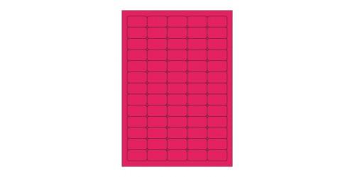 Avery eti. 21,2x38,1 roze L7651/PF
