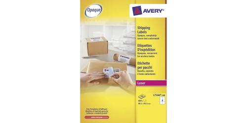 Avery etiket 93,1 x 99,1 (L7166)
