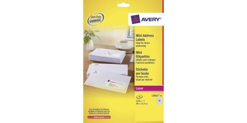 Avery etiket 21,2 x 38,1 (L7651)