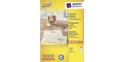Avery Zweckform 3477 ft. 41x105