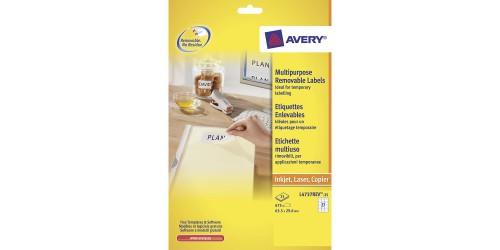 Avery Zweckform 4737,ft29,6x63,5