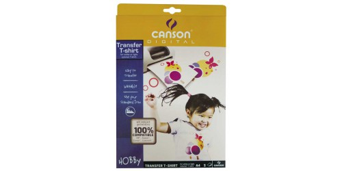 Canson Transfer T-shirt A4 wit T-s