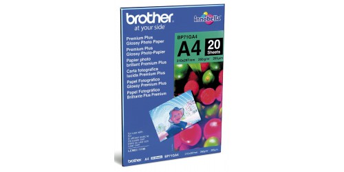 Brother Glossy photopaper BP71G A4