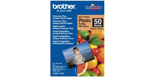 Brother Glossy Photopaper BP71GP50