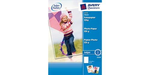 Avery Inkjet Glossy A4 125 g