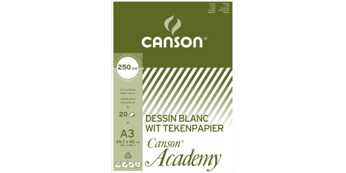 Canson Academy A3 250 g wit