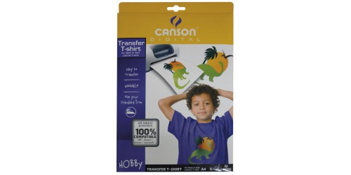 Canson T-shirt transfert A4 zw. T-