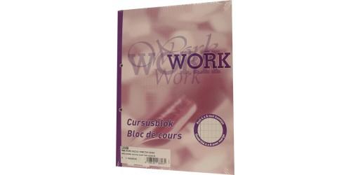 Cursusblok Work commercieel 8X4MM Pak van 5