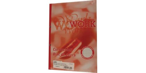 Cursusblok Work A4 Geruit 5X5 MM Pak van 5