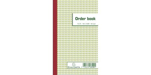 Exacompta orderbook 17,5x10,5 3ex.