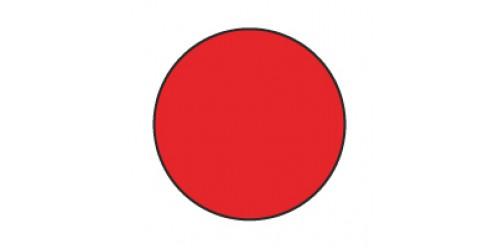 Etiket Herma 2232 rood