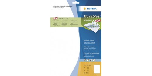 Herma etiket movables 297x210mm