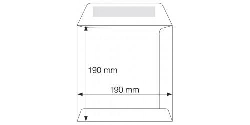 Envelop 190x190 mm, gegomd 80141