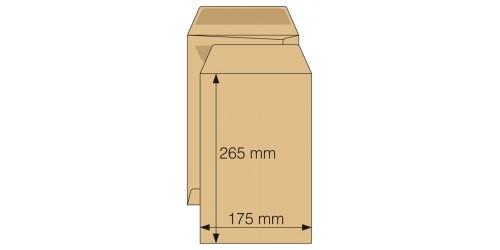 Akte-envelop 175 x 265, zelfkl.