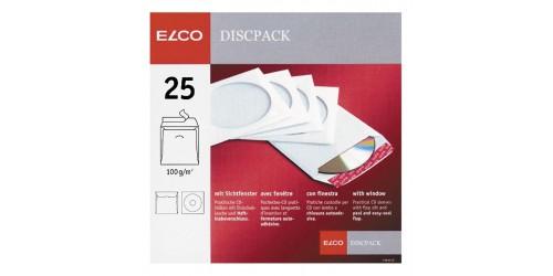 Envelop Elco CD zelfkl wit 125x125