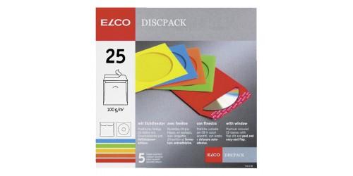 Envelop Elco CD zelfkl assorti 125