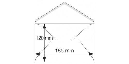 Briefkaartenveloppen ft 120x185