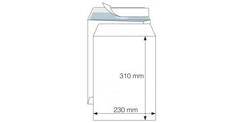 Akte-Envelop 230x310mm  wit