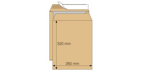 Zakenvelop met rug 260 x 320 mm