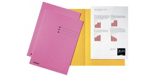 Vouwmap A4 180 g roze      2113411