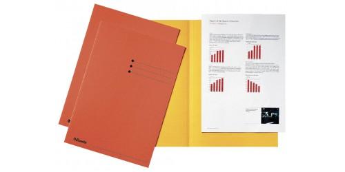 Vouwmap A4 180 g oranje    2113413