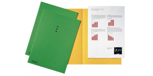 Vouwmap Fo 124 180 g groen 2012408