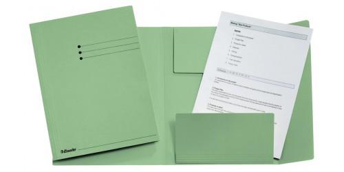 Klepmap A4 groen           1033308