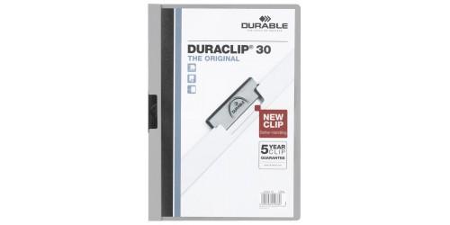 Duraclip map 2200 grijs