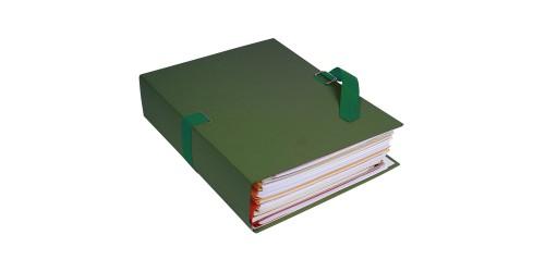 Lintmap uitschuifb. 320x240 groen